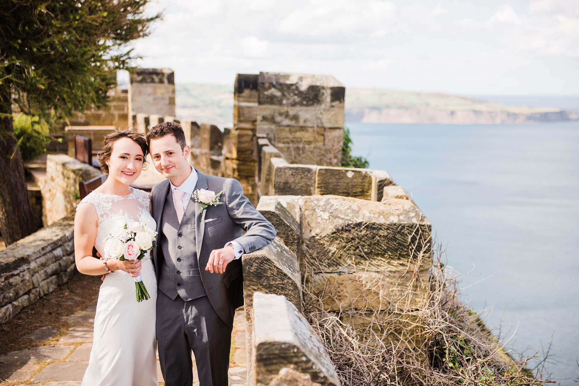 wedding photographer North Yorkshire Scarborough